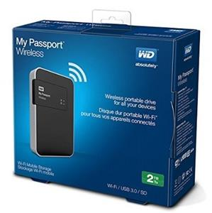 Western Digital My Passport Wireless 2TB External Hard Drive